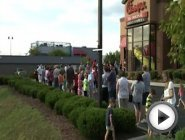 Chickfila Appreciation Day Springfield MO 8/1/2012