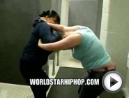 Is This Whats Goin Down In The 09? 2 Girls Ruffin Up Each Other In