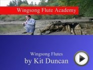 "Wingsong Flute Academy Video No. 5 - by Me! ""JP"" - Titled ""Improv"""